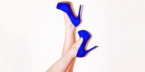 finger, electric blue, cobalt blue, nail,