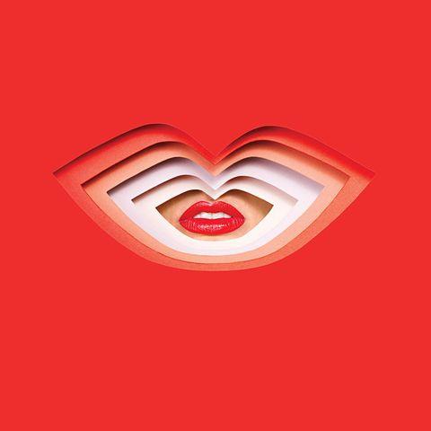 Heart, Red, Carmine, Pattern, Love, Coquelicot, Symbol, Graphics, Valentine's day, Tongue,