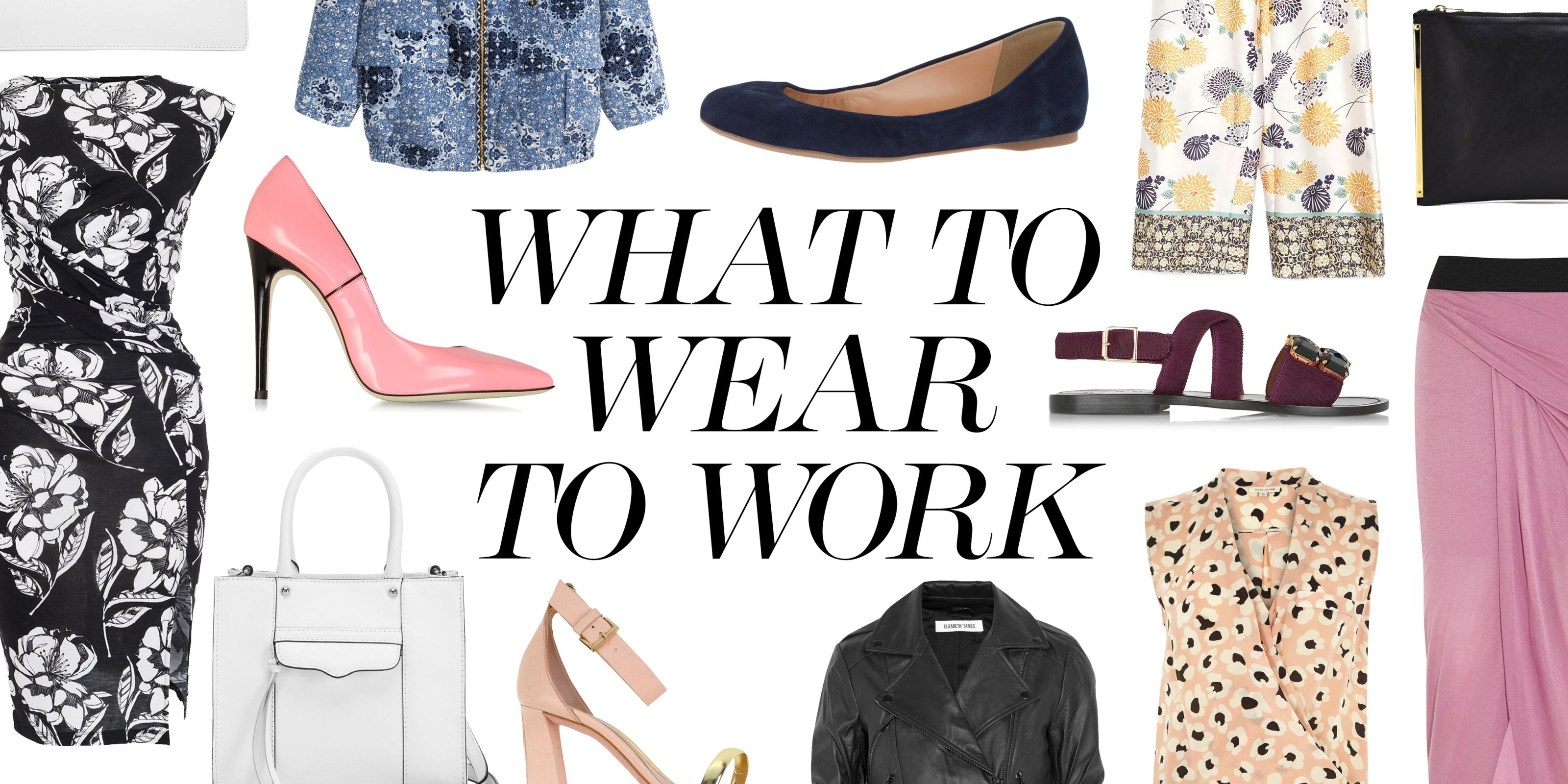What to Wear to Work When You're Transitioning from Winter to Spring