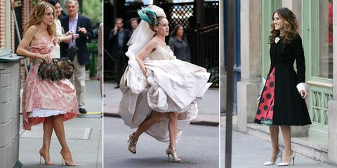 An Ode to Carrie Bradshaw's Epic Shoe Game