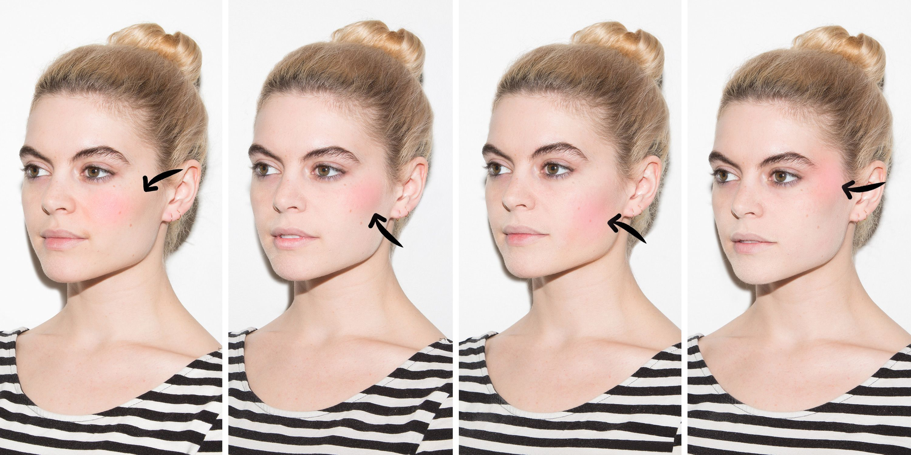 The Absolute Prettiest Way to Apply Blush