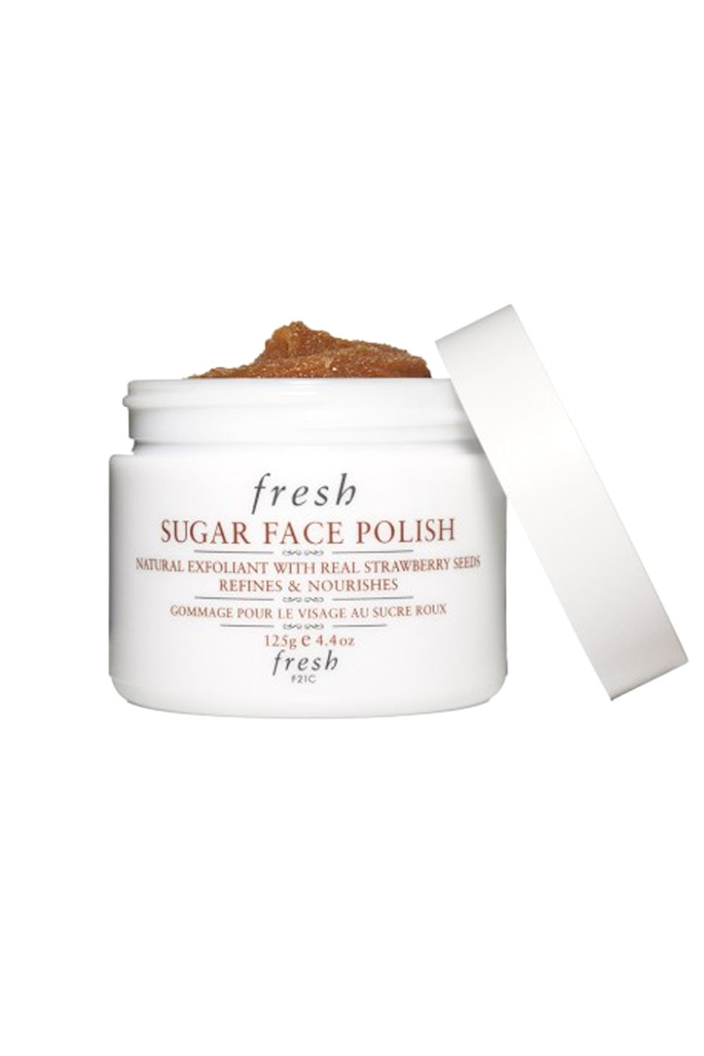 "Time to scrub—carefully buff dead skin away with a mild, natural sugar scrub. Focus on the areas that could use an extra dose of TLC, like enlarged pores on your cheeks or blackheads on your nose.   <em>Fresh Sugar Face Polish, $62; <a target=""_blank"" href=""http://www.fresh.com/US/exfoliant/sugar-face-polish/H00000385.html"">fresh.com</a></em>"