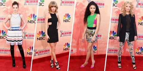 Clothing, Leg, Flooring, Red, Dress, Style, Logo, Waist, Beauty, Advertising,