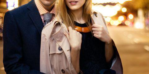 Clothing, Collar, Dress shirt, Coat, Outerwear, Amber, Blazer, Pocket, Drink, Street fashion,