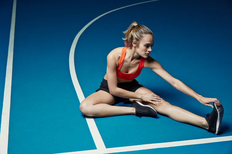 Human leg, Elbow, Leisure, Knee, Thigh, Calf, Maillot, Ankle, Foot, Physical fitness,
