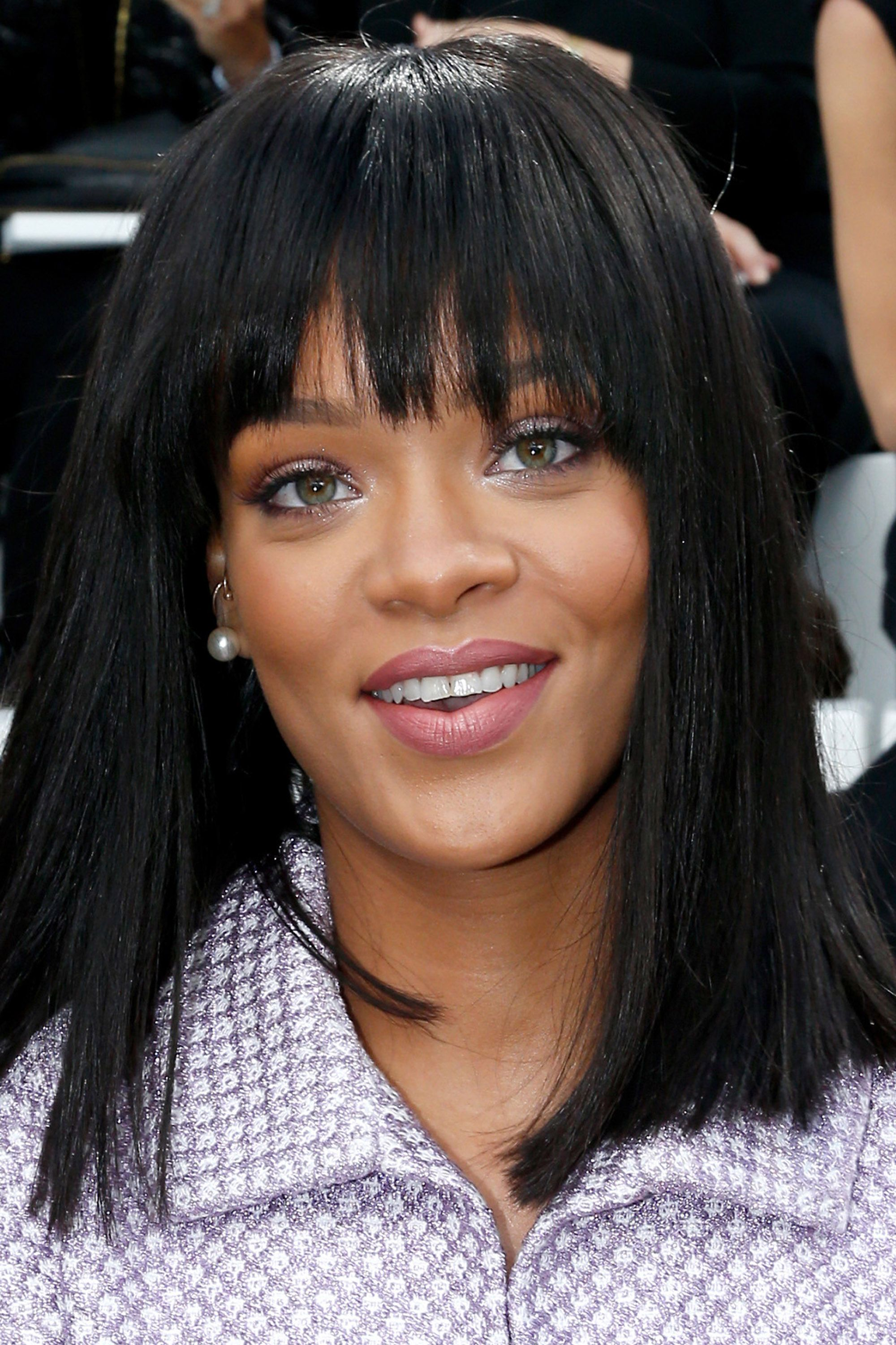PARIS, FRANCE - MARCH 04:  Singer Rihanna attends the Chanel show as part of the Paris Fashion Week Womenswear Fall/Winter 2014-2015 on March 4, 2014 in Paris, France.  (Photo by Bertrand Rindoff Petroff/Getty Images)