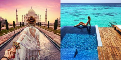 Leisure, Aqua, Teal, Sea, Dome, Swimwear, Historic site, Tourist attraction, Painting, Place of worship,