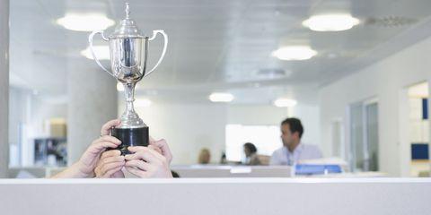 Trophy, Ceiling, Light fixture, Award, Ceiling fixture, Transparent material,