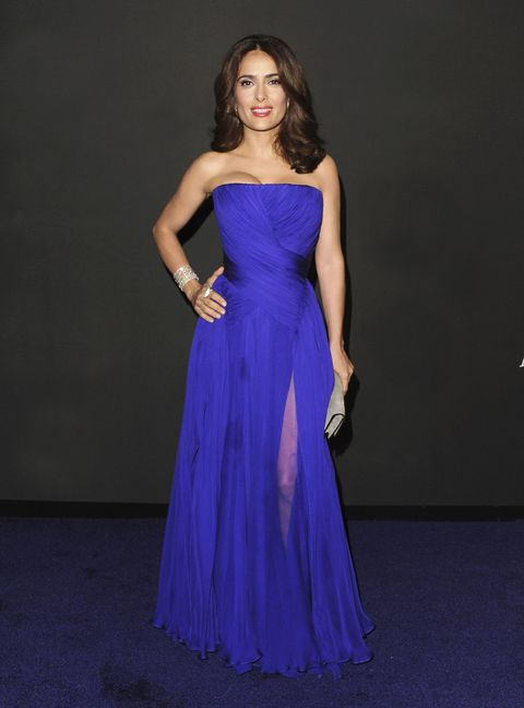 Clothing, Blue, Dress, Shoulder, Textile, Joint, One-piece garment, Strapless dress, Formal wear, Gown,