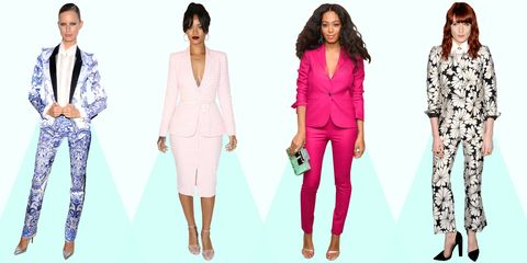 18 Celebs in Spring-y Suits That Will Finally Convince You to Buy One