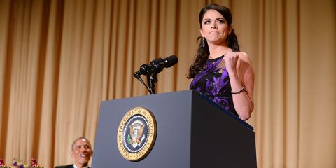 Cecily Strong Killed It at the White House Correspondents' Dinner