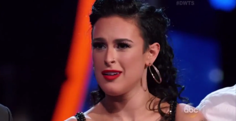 Rumer Willis on Dancing with the Stars