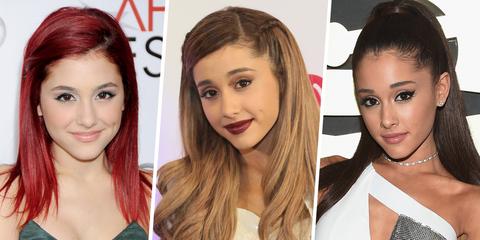 Ariana Grande's Entire Beauty Evolution