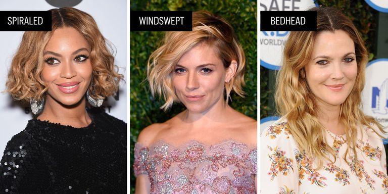45 Wavy Hair & Haircuts on Celebrities - How To Get Wavy Hair
