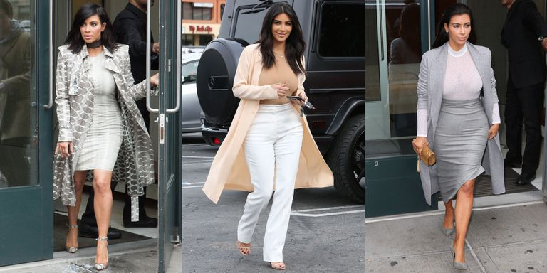 Kim Kardashian Office Style Kim Kardashian Work Wardrobe