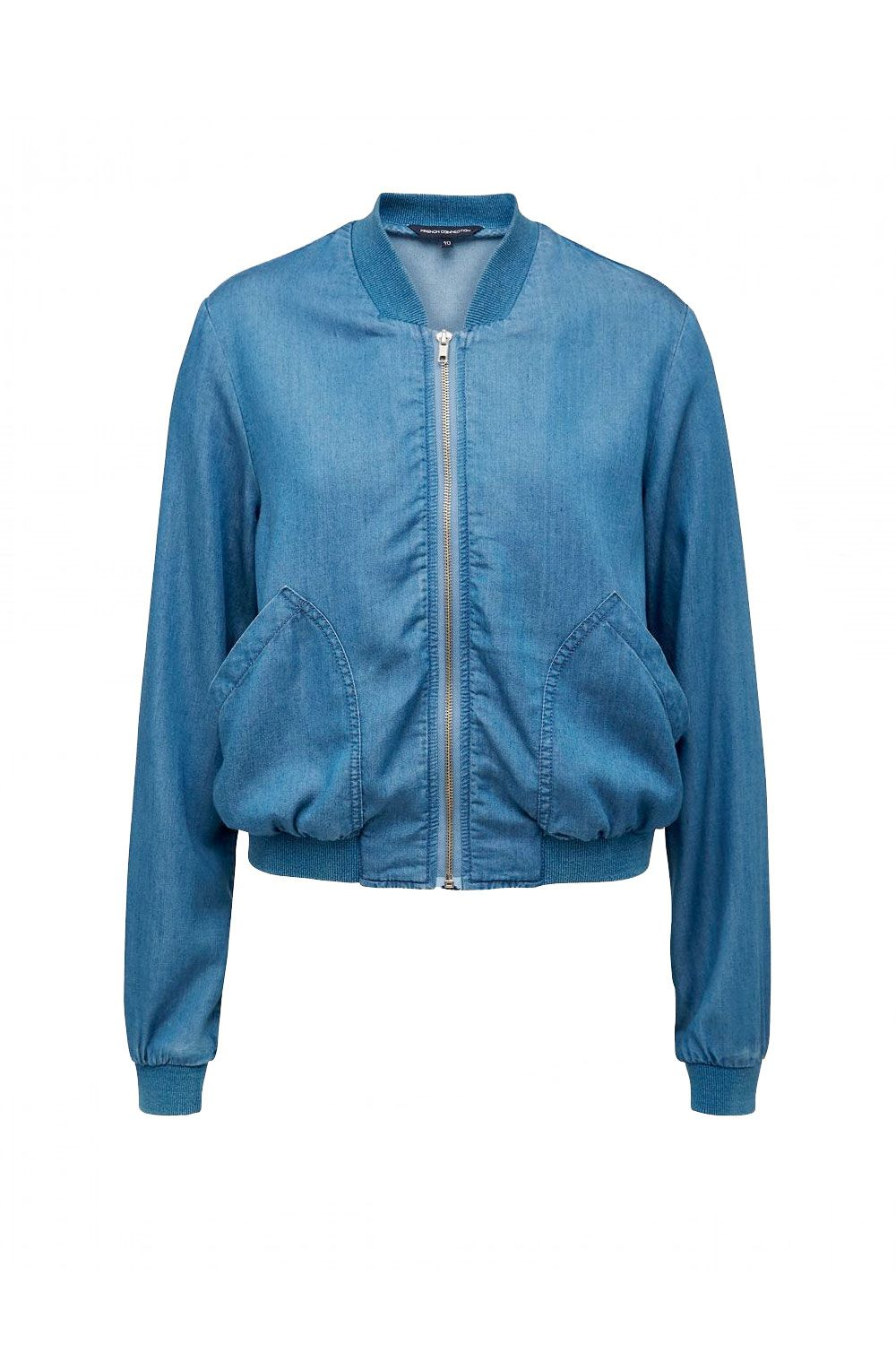 """That leather jacket on your splurge list stands down to this lightweight version. And it won't set you back a paycheck, either.  <em>French Connection chambray bomber jacket, $79; <a href=""""http://www.frenchconnection.com.au/chambray-bomber-jacket/w2/i7569373/"""" target=""""_blank"""">frenchconnection.com</a></em>"""