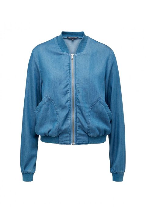 "That leather jacket on your splurge list stands down to this lightweight version. And it won't set you back a paycheck, either.  <em>French Connection chambray bomber jacket, $79; <a href=""http://www.frenchconnection.com.au/chambray-bomber-jacket/w2/i7569373/"" target=""_blank"">frenchconnection.com</a></em>"
