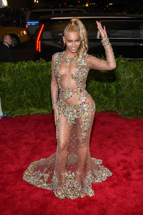 Beyoncé's Much-Admired Met Gala Ponytail Was Totally Unplanned, Created in an Elevator
