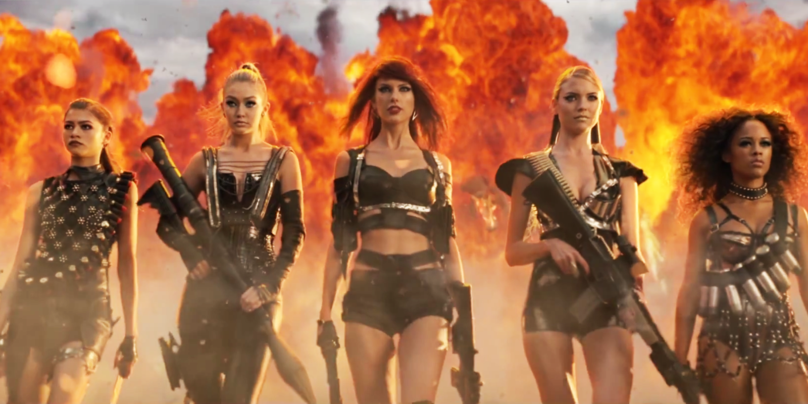 Taylor Swift Bad Blood Costumes Bad Blood Music Video Clothes