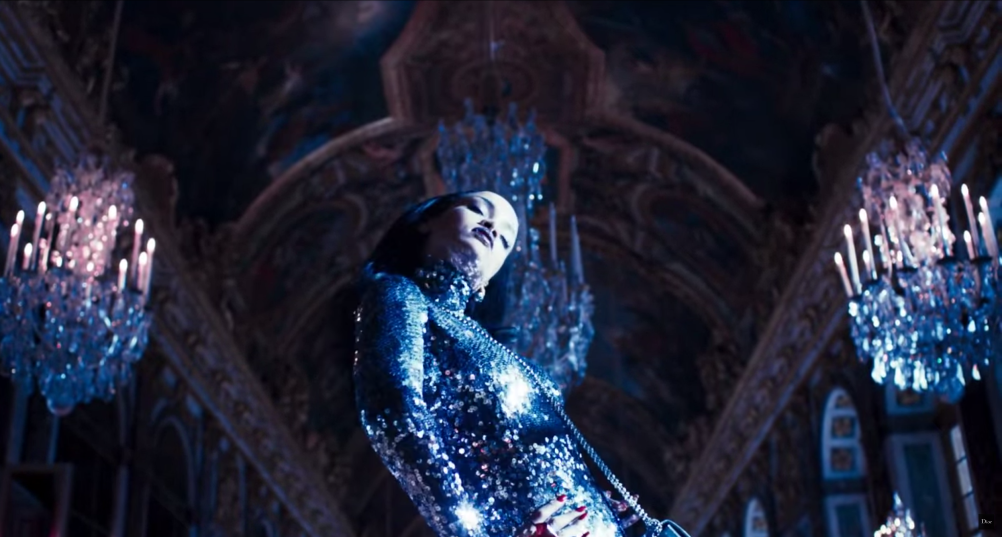 Rihanna Is a Mysterious Fashion Creature in This Creepy-Cool New Dior Commercial