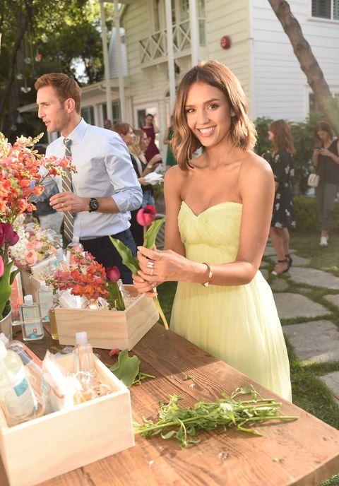 Trousers, Dress, Bouquet, Petal, Box, Cut flowers, Floristry, Flower Arranging, Gown, Bottle,