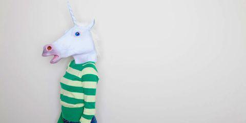 White, Neck, Terrestrial animal, Snout, Fictional character, Unicorn, Giraffe, Giraffidae, Mythical creature, Toy,
