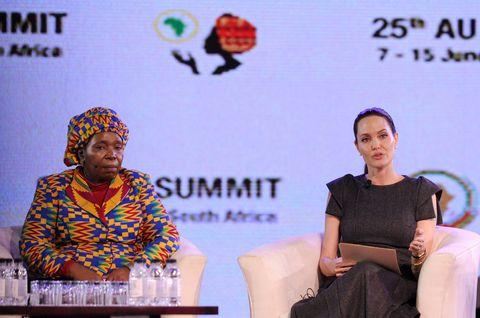 Angelina Jolie at African Union summit