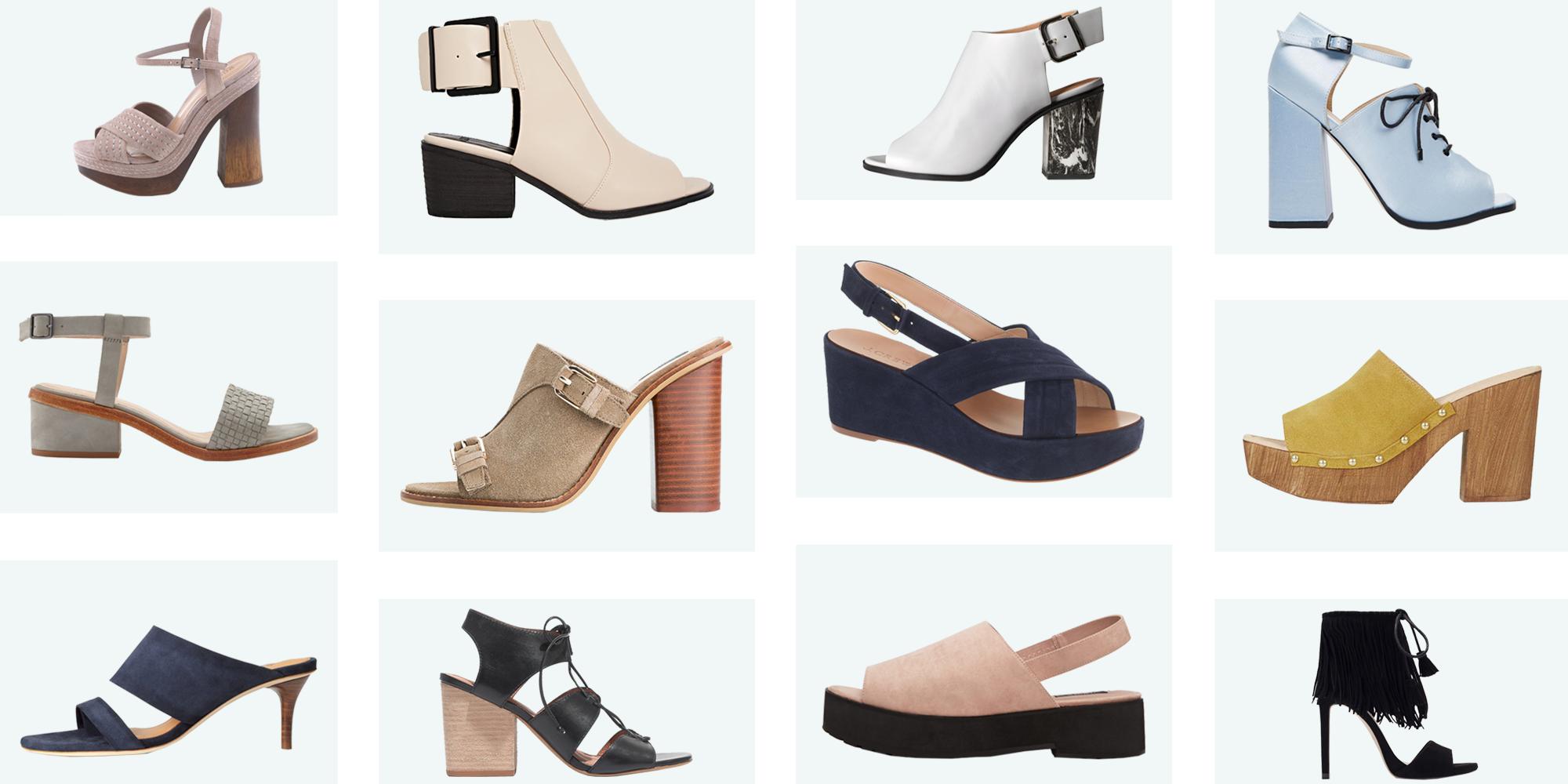 Open-Toe Shoes for Every Season - Cute