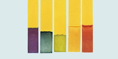 Yellow, Colorfulness, Orange, Line, Amber, Pattern, Tints and shades, Rectangle, Purple, Parallel,