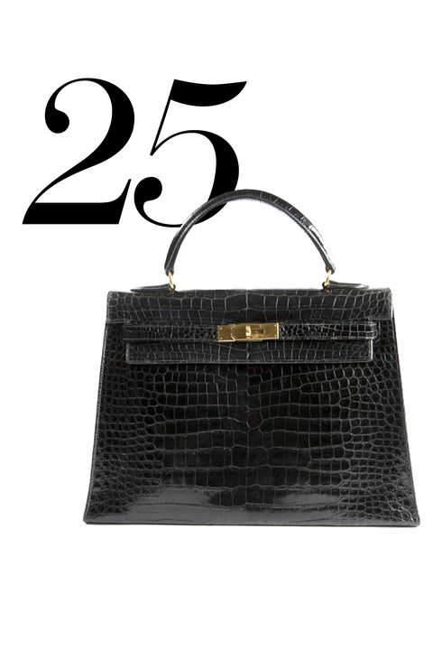 """Quarter-life crisis on the horizon? Retail therapy to the rescue! Buy yourself that spendy tote you'll love for the next 50 years. Go for something classic that you can carry forever—and then pass on.  <strong>Splurge On</strong>: Hermes Kelly Bag, $20,399, <a target=""""_blank"""" href=""""http://www.farfetch.com/shopping/women/Hermes-Vintage-Kelly-bag-item-10764926.aspx?gclid=CjwKEAjw2ImsBRCnjq70n_amv14SJAChXijNoZnoY6zm-RGwRMjewwXlgcW9lAK8gSdXaoBwOYlZwxoCwnfw_wcB&amp;fsb=1&amp;ef_id=VXXLKwAAAVx1213s:20150618163426:s """">farfetch.com</a>"""
