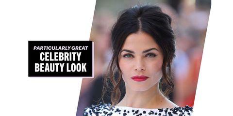 Lip, Hairstyle, Chin, Eyebrow, Eyelash, Style, Beauty, Eye liner, Earrings, Eye shadow,