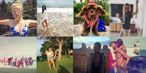 The Best Celebrity 4th of July Instagrams