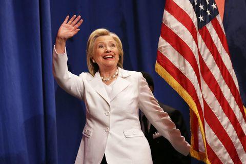 Sleeve, Flag, Flag of the united states, Collar, Blazer, Gesture, Curtain, Orator, Public speaking, Flag Day (USA),