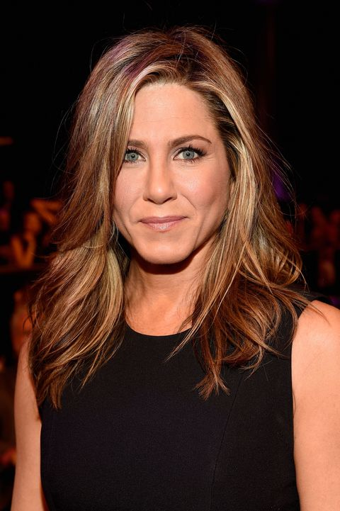 Aniston worked a lot of odd jobs before her acting career took off—including working as a bike messenger and a telemarketer.