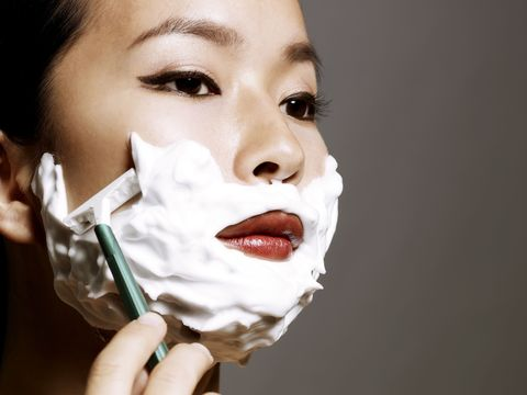 Uh...Should You Be Shaving Your Face?