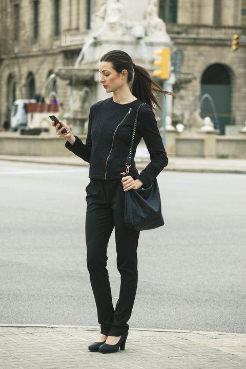 Clothing, Sleeve, Outerwear, Standing, Style, Street fashion, Street, Fashion accessory, Tourism, Fashion,
