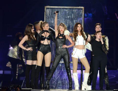 "Taylor Swift's ""Bad Blood"" Crew Reunited Last Night"