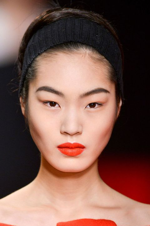 Lip, Skin, Chin, Forehead, Eyebrow, Eyelash, Style, Headgear, Beauty, Fashion,