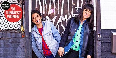 Smile, Sleeve, Jacket, Outerwear, Coat, Happy, Denim, Style, Collar, Street fashion,