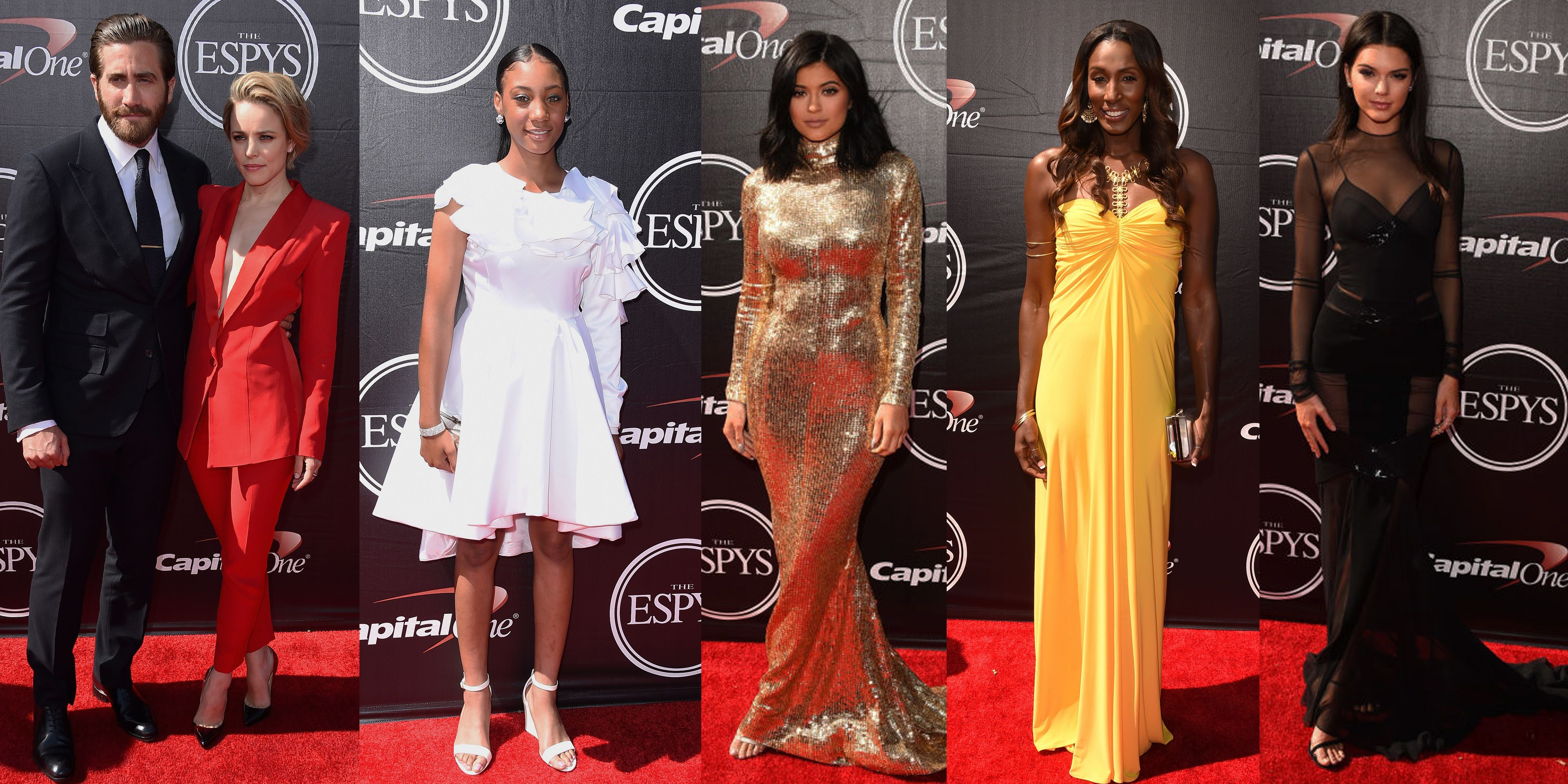 1552a0ac0dc See Every Stunning Look from the 2015 ESPY Awards Red Carpet