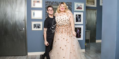 Inside Nicolette Mason S Wedding Dress Ing With Designer Siriano