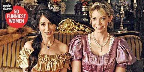 Another Period Comedy Central TV Show - Natasha Leggero and Riki ...