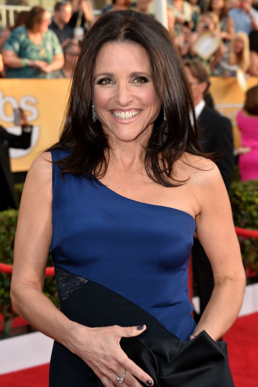 "<strong>Badass alert:</strong> She does bad really good—from the Elaine dance (<em>Seinfeld</em>) to the White House (<em>Veep</em>).   <strong>Find her: </strong><a target=""_blank"" href=""https://twitter.com/officialjld"">@OfficialJLD</a>."