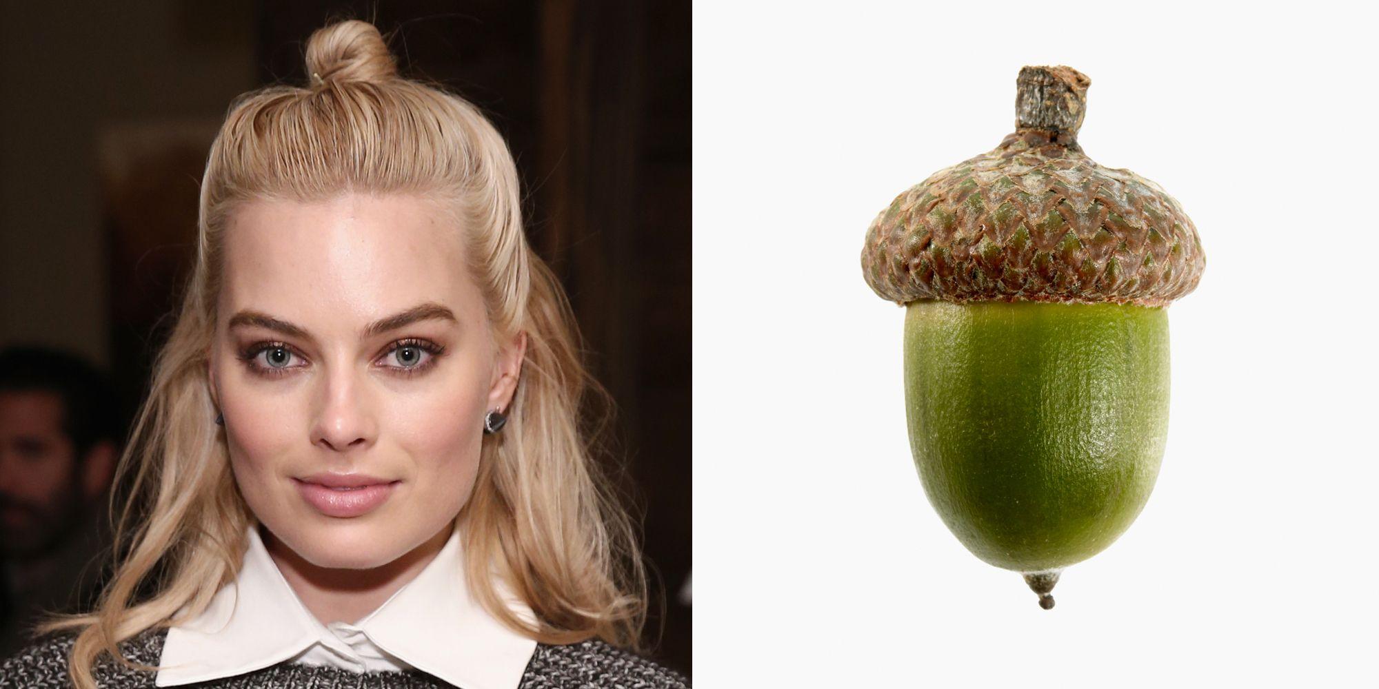 Celebrity Half Bun Hairstyle
