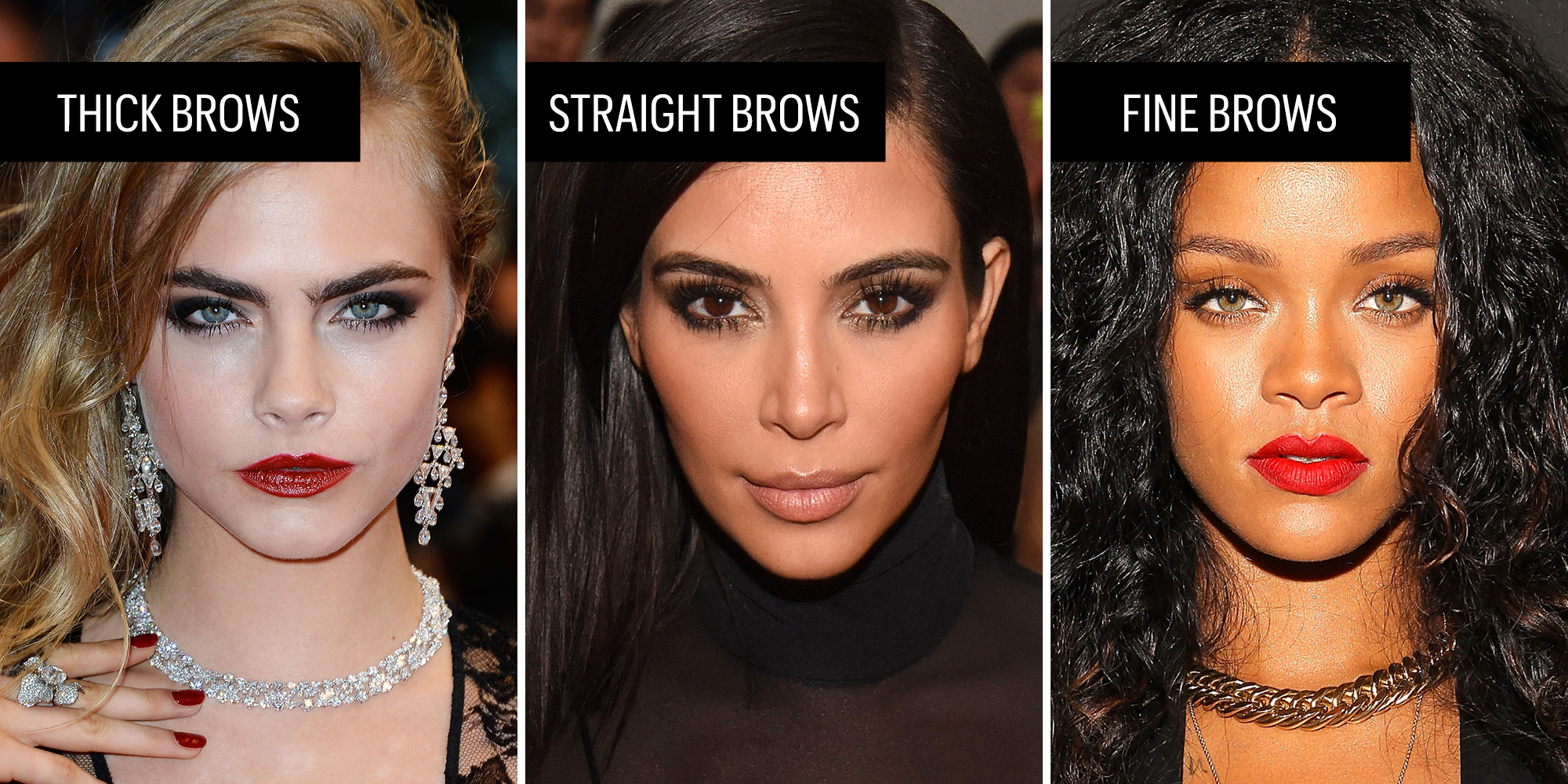 Eyebrow Texture Guide How To Style Your Brows
