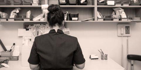 Collar, Sleeve, Dress shirt, Shoulder, Shirt, Shelf, Style, Shelving, Service, Black,