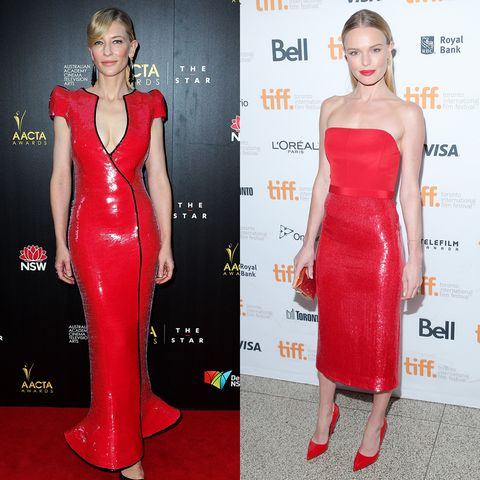 "<p>The nice things Kate said about Cate should be made into one of those prettily designed quotes people like to post on Instagram. ""In terms of fashion, she has a classic elegance and yet is experimental,"" K-Kate <a href=""http://www.whowhatwear.com/kate-bosworth-fashion/"">told Who What Wear</a>. ""She doesn't let anything define her in that category. She's just fearless."" </p>"