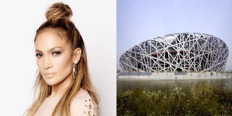 <p>Even though this is totally anachronistic, Ai Weiwei *would* be the one to see JLo's vertical half-bun in a dream and be inspired by its texture. </p>