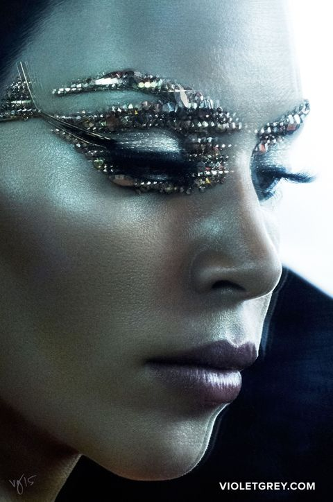 kim kardashian cleopatra makeup kim kardashian pat mcgrath