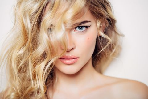 Nose, Mouth, Lip, Hairstyle, Skin, Chin, Eyelash, Eyebrow, Jaw, Beauty,
